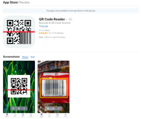 QR Code Reader บน App Store - iTunes - Apple